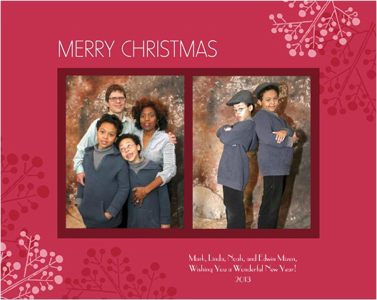 i ordered christmas cards from costco today their 675 cards were reasonably priced at 501499 i used their templates although i did note that costco - Costco Christmas Card